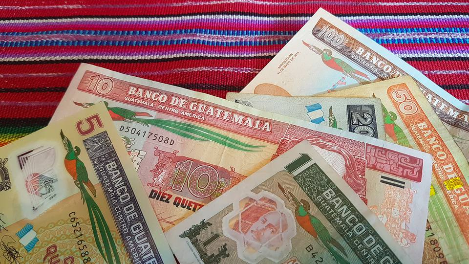 Quetzales Notes The Currency Of Guatemala