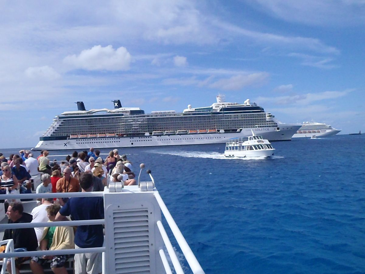 Grand Cayman Tender to Celebrity Solstice