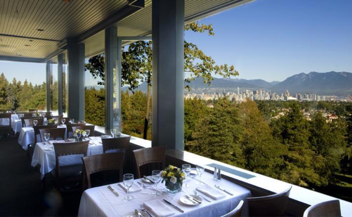 Vista desde el restaurante Seasons in the Park