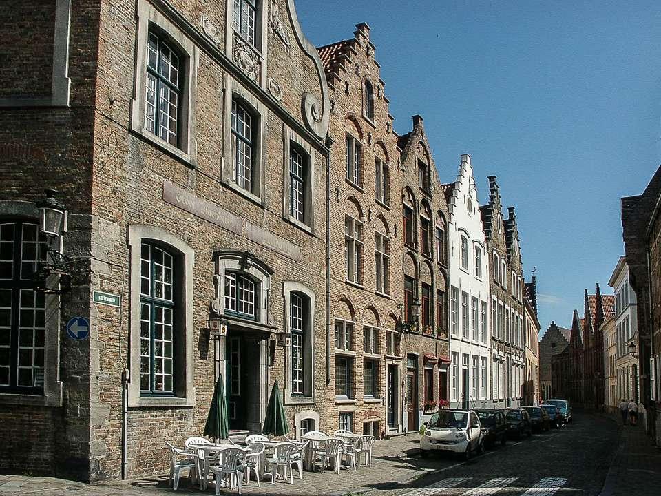 A Cafe in Bruges, Belgium
