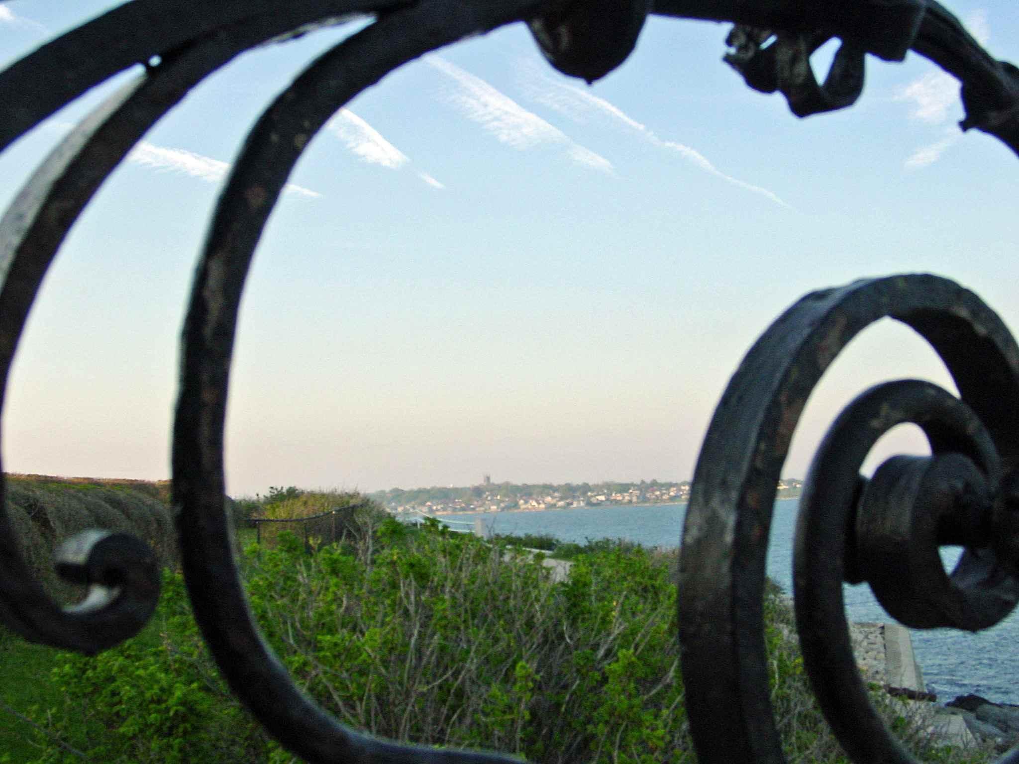 Newport Rhode Island Sunset Along the Cliff Walk