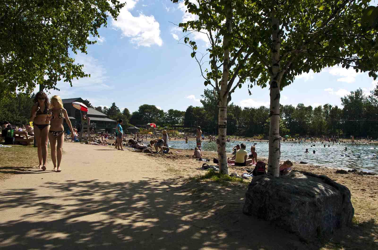 Plage Doré beach