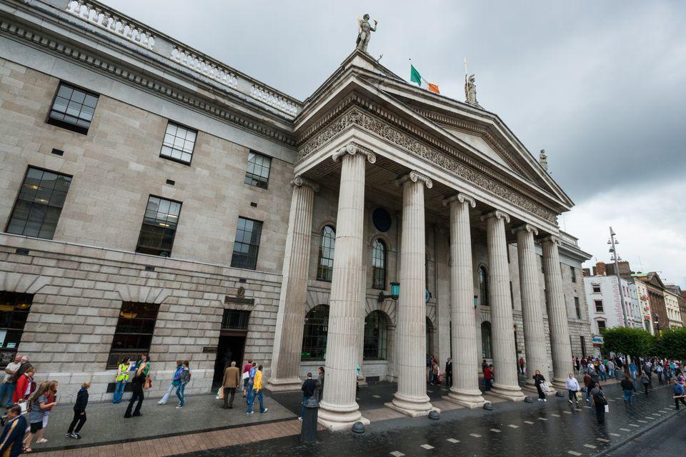 GPO on O'Connell Street, Dublin City, Ireland