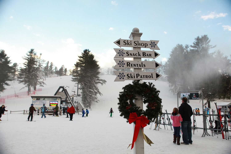 a dozen places to ski near boston