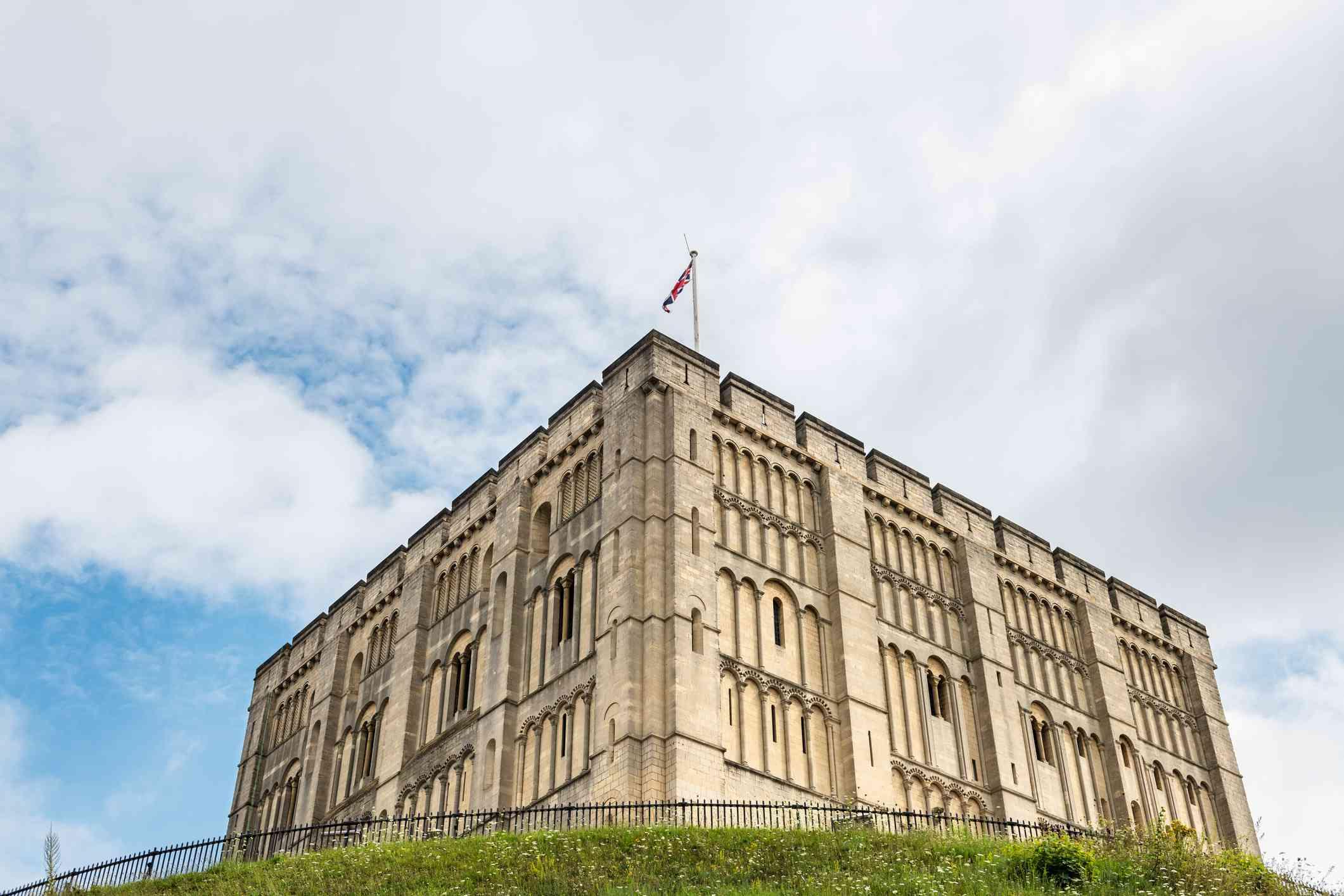 Norwich Castle in England