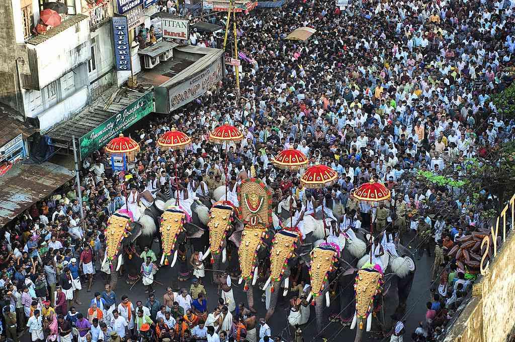 Thrissur Pooram, Kerala Worlds biggest Elephant festival