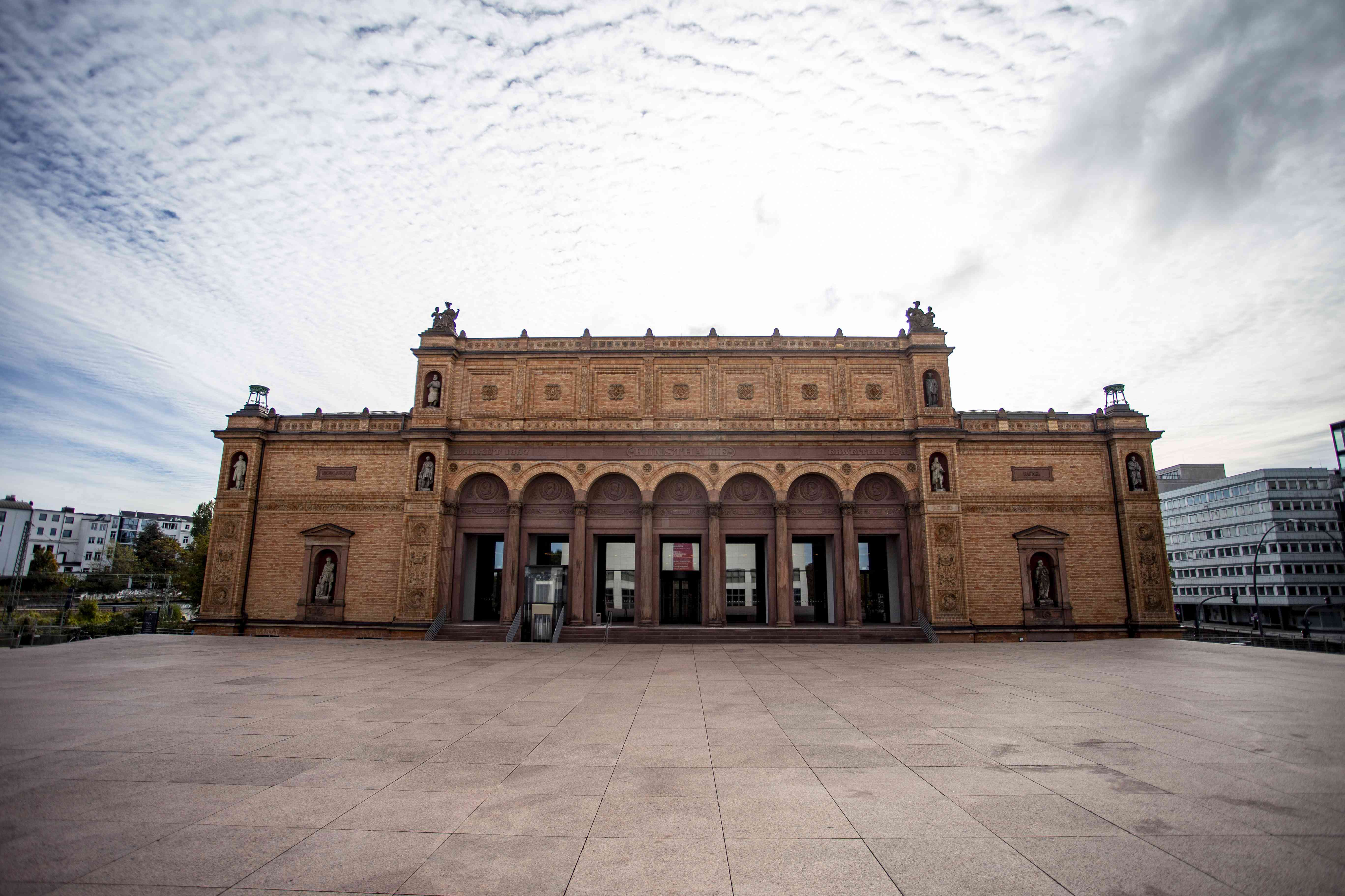Exterior of the Kunsthalle