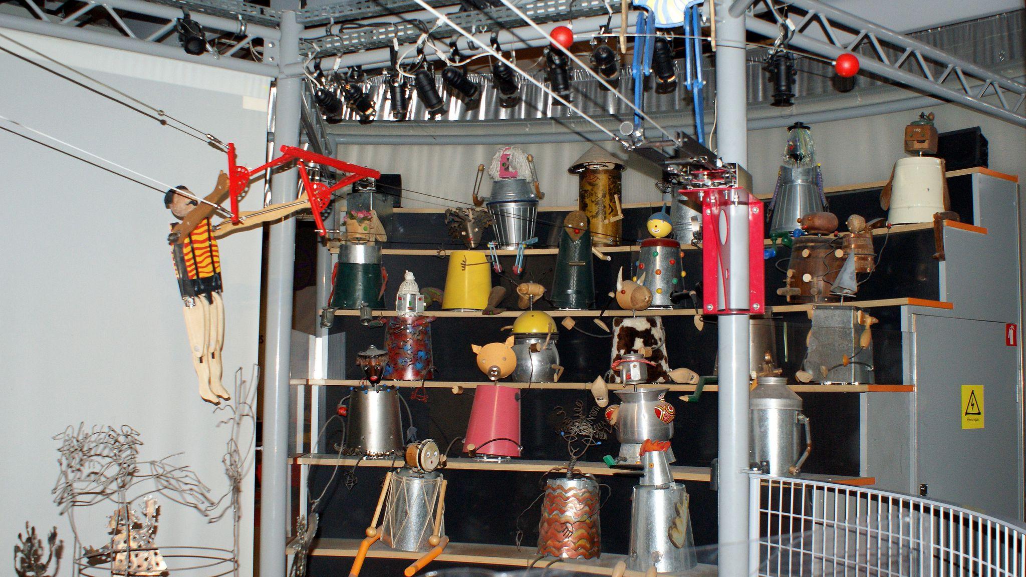 The Paris Science & Industry Museum (Cité des Sciences)