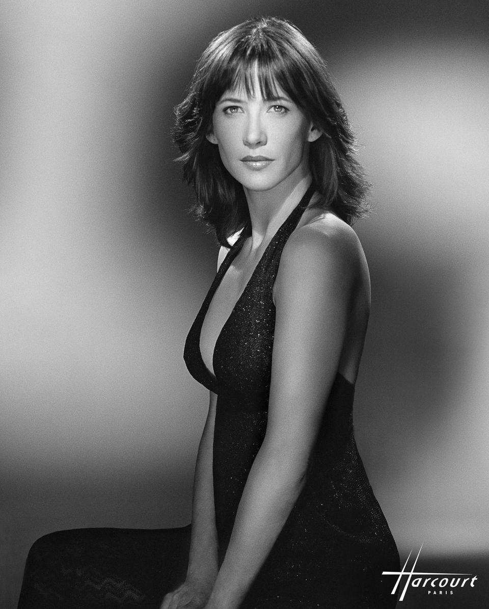 French actress Sophie Marceau photographed by Studio Harcourt, Paris
