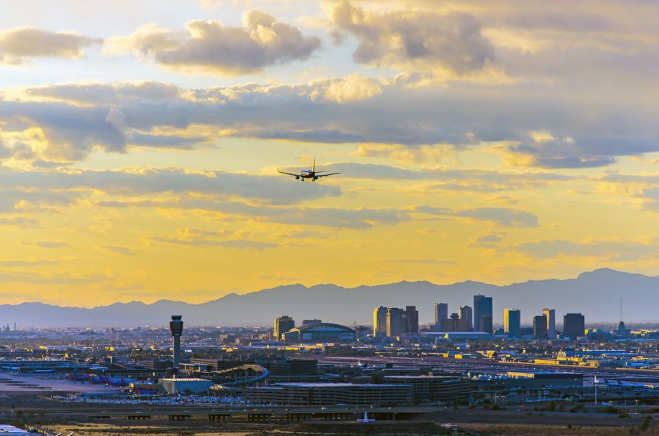 Phoenix Skyline Sunset