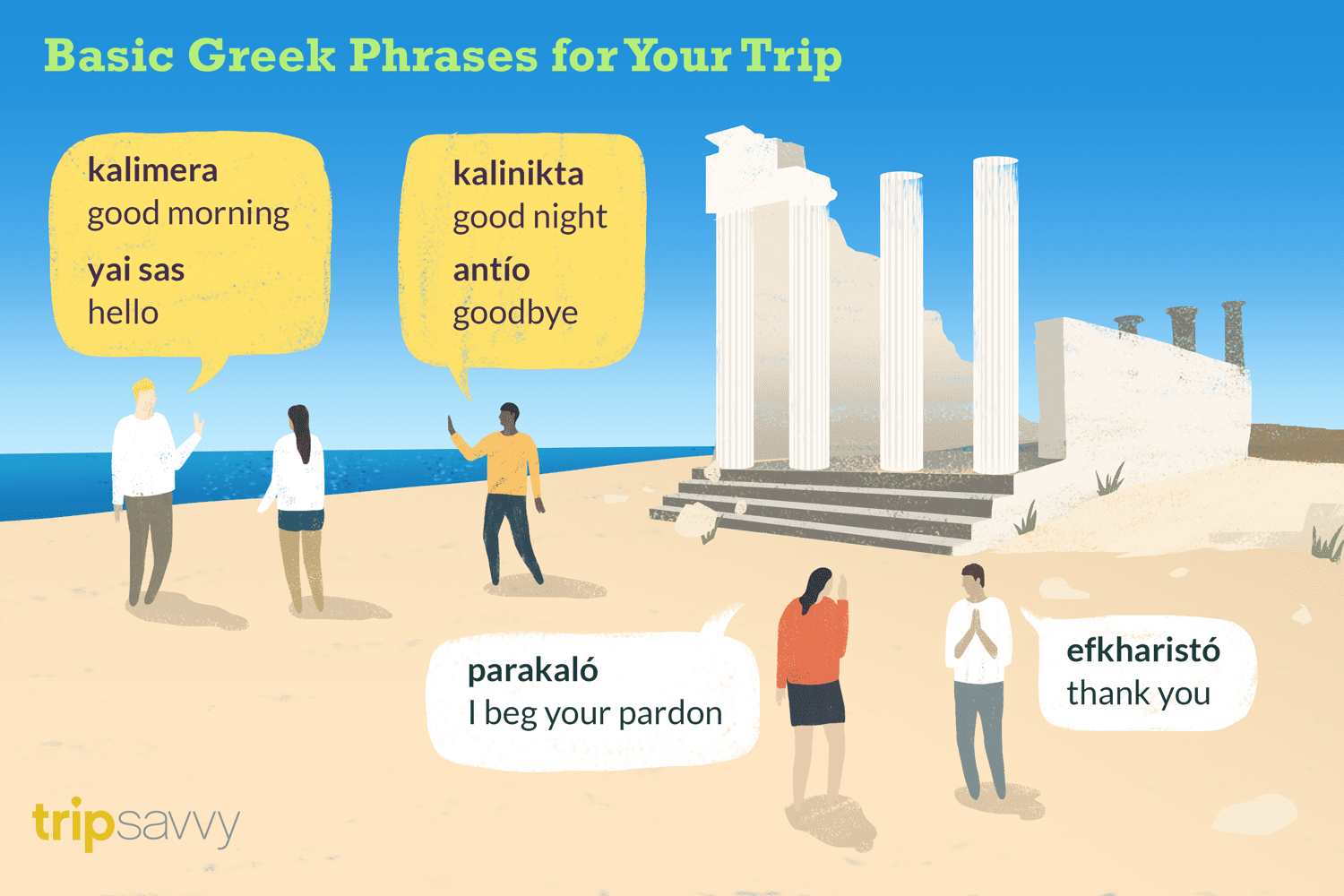 Greek phrases tourists should know when visiting greece m4hsunfo