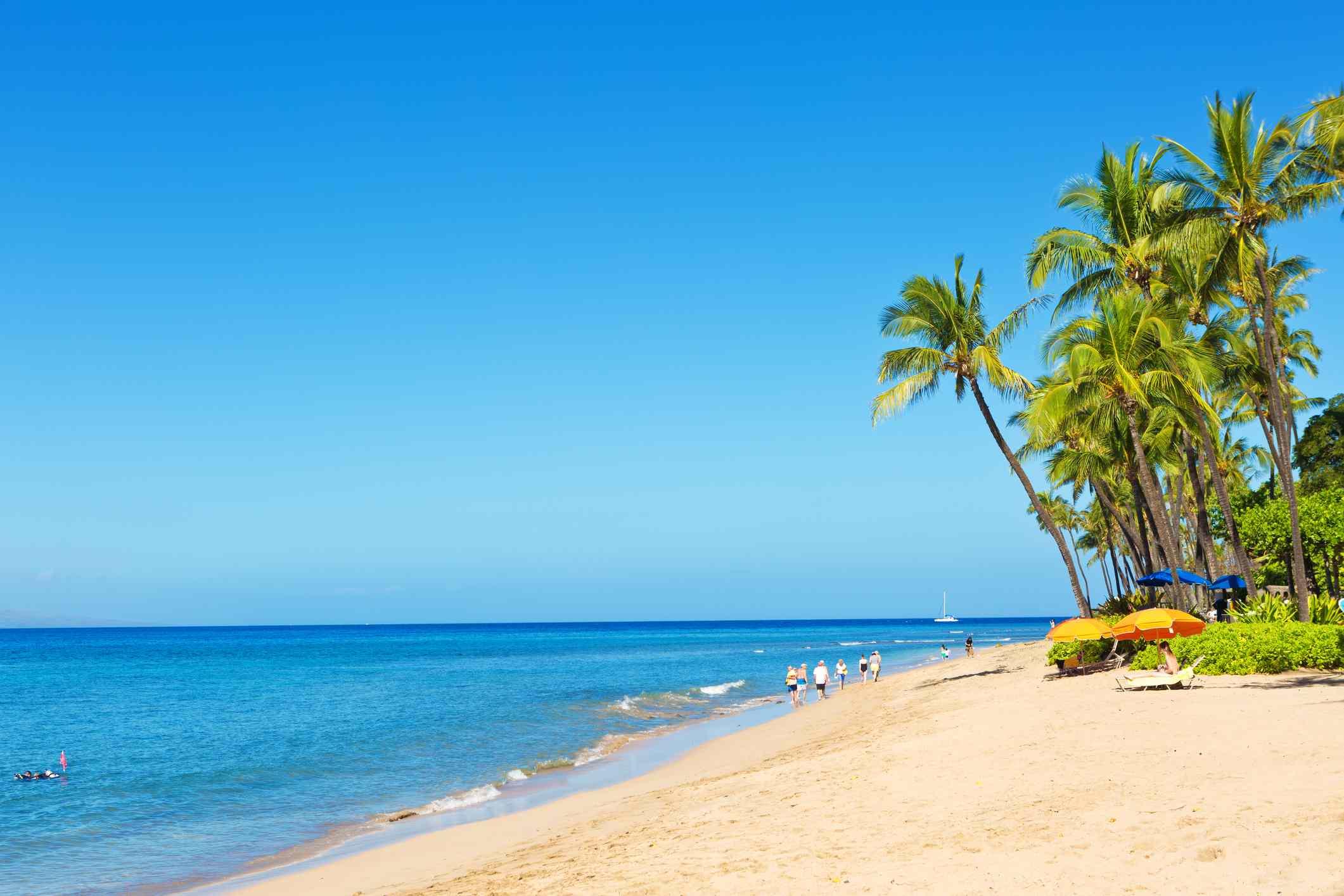 Kaanapali Beach and resort Hotels on Maui Hawaii