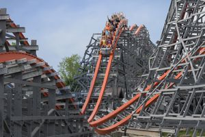Wicked Cyclone coaster Six Flags New England