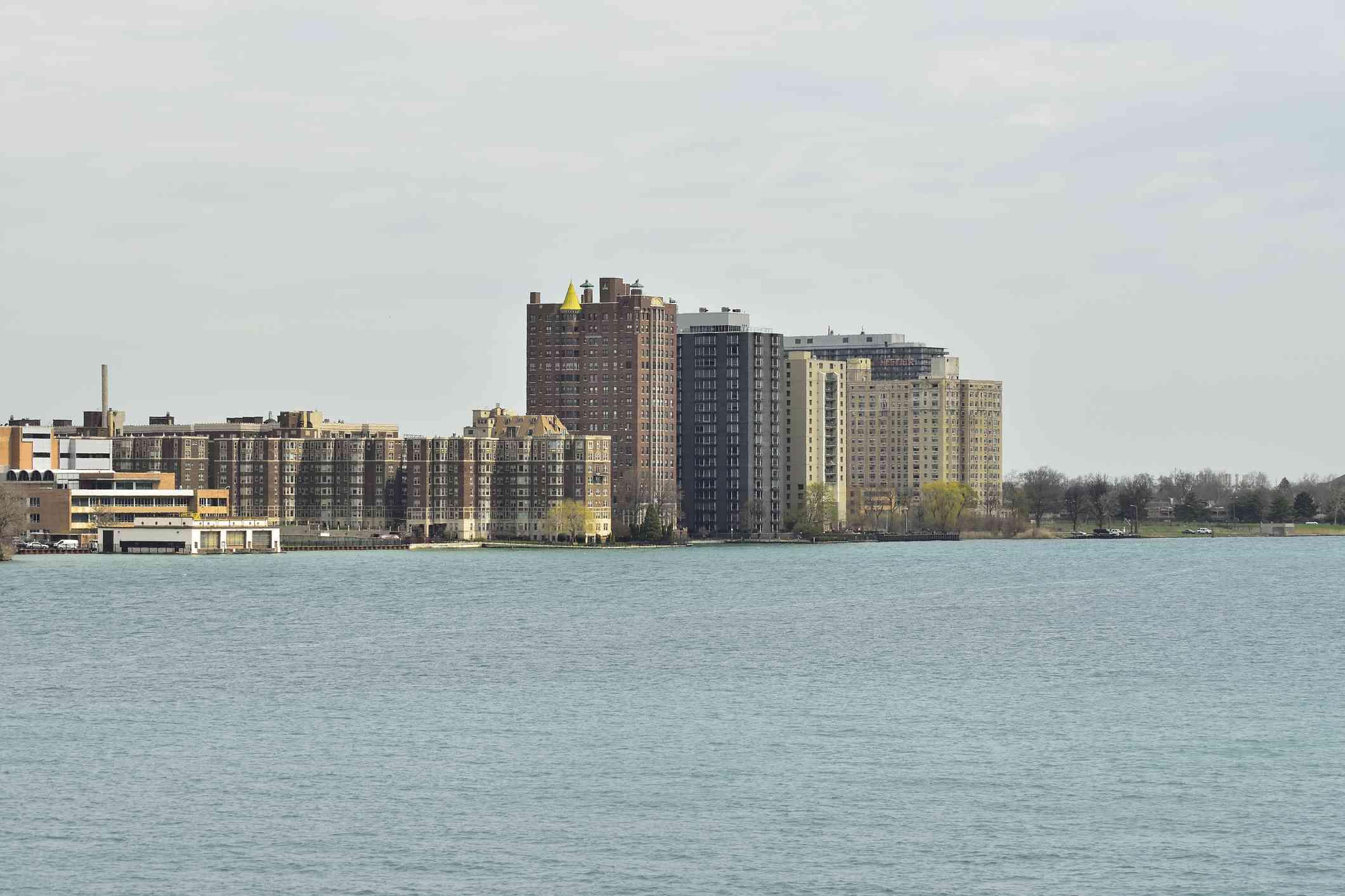 Detroit's Gold Coast, a part of The Villages