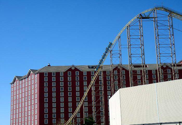 Desperado roller coaster in Nevada