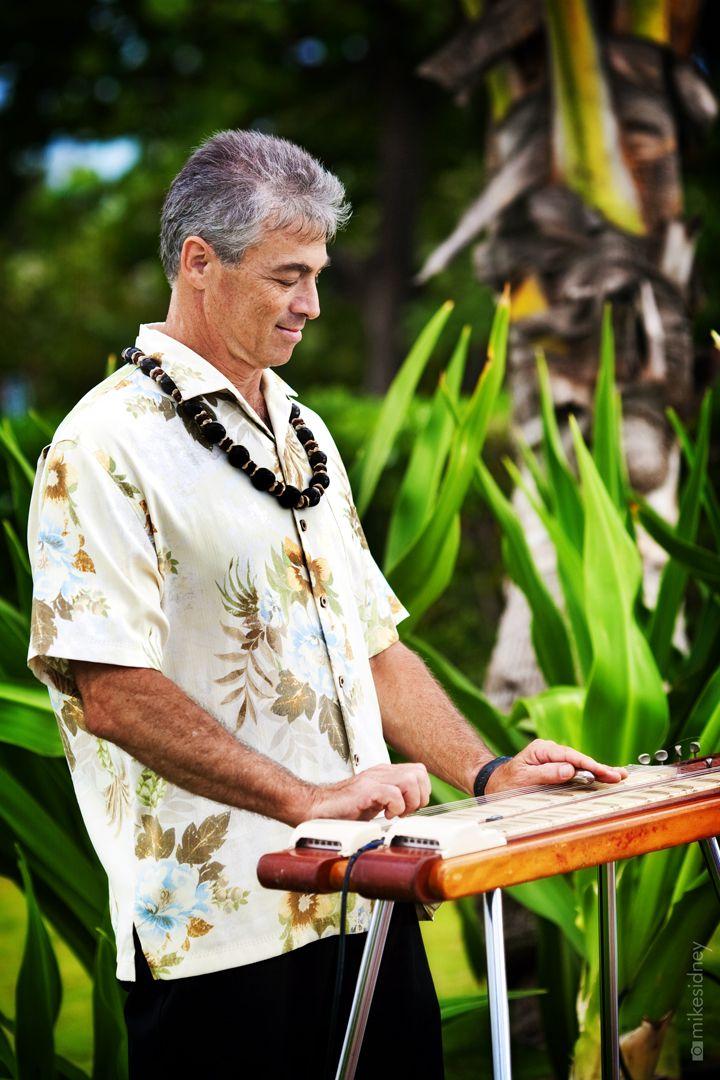Joel Katz playing Hawaiian Steel Guitar