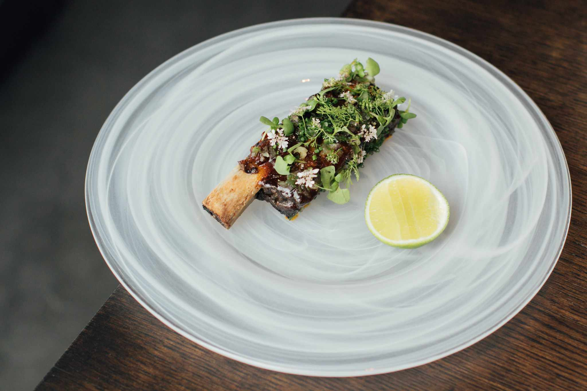 A dish from Commis