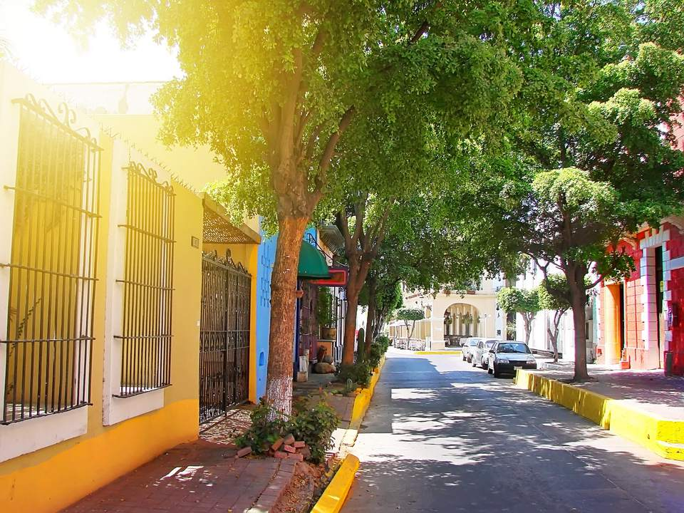 Mazatlan streets - old city
