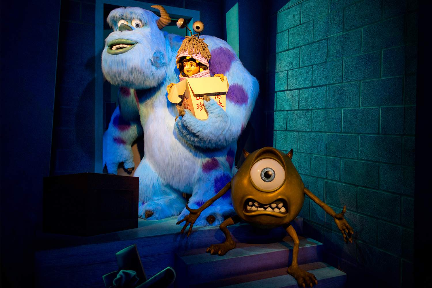 875a2b6b4 Monsters Inc. Ride at Disneyland