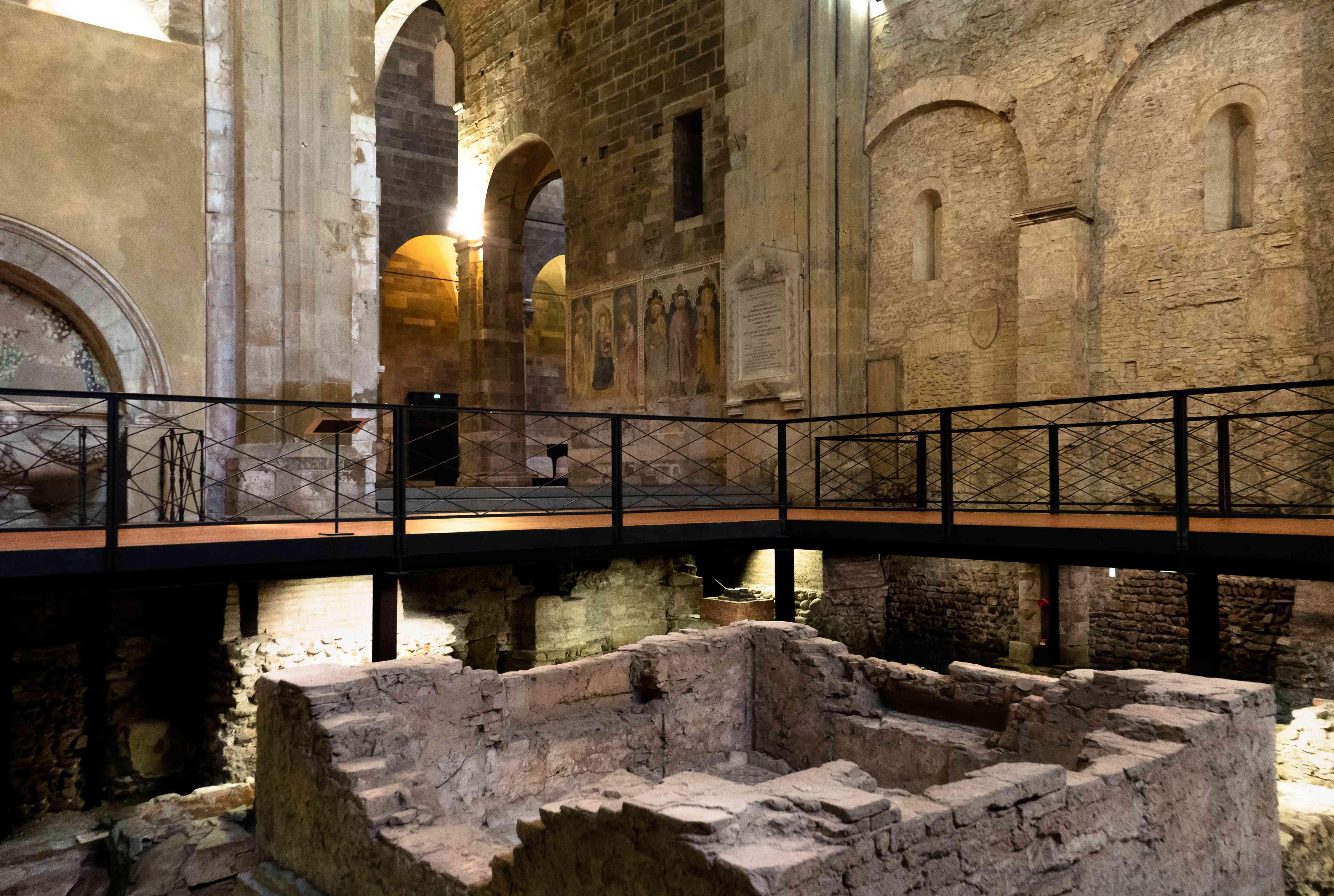 Ruins in the San Giovanni Church