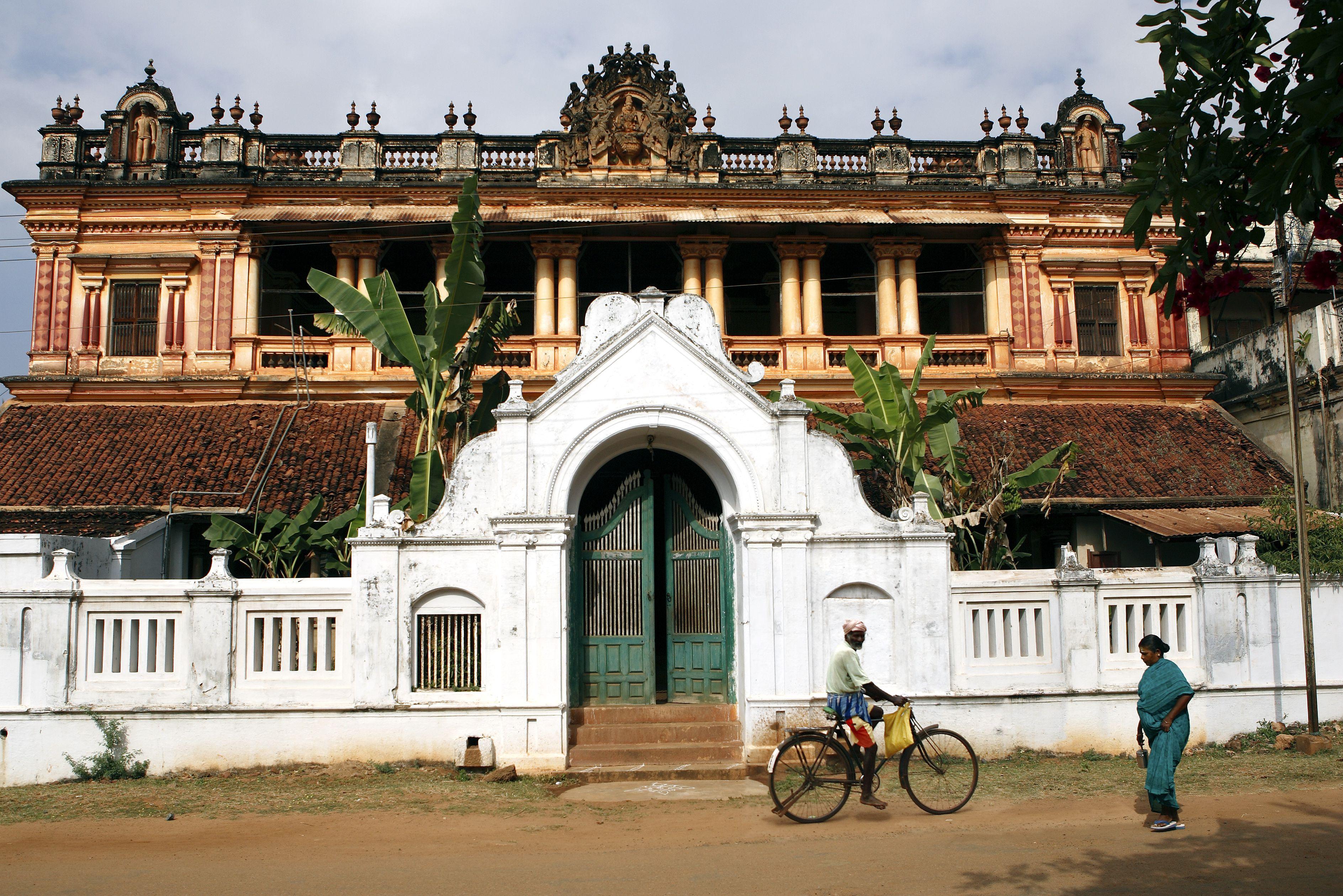 A Chettinad mansion