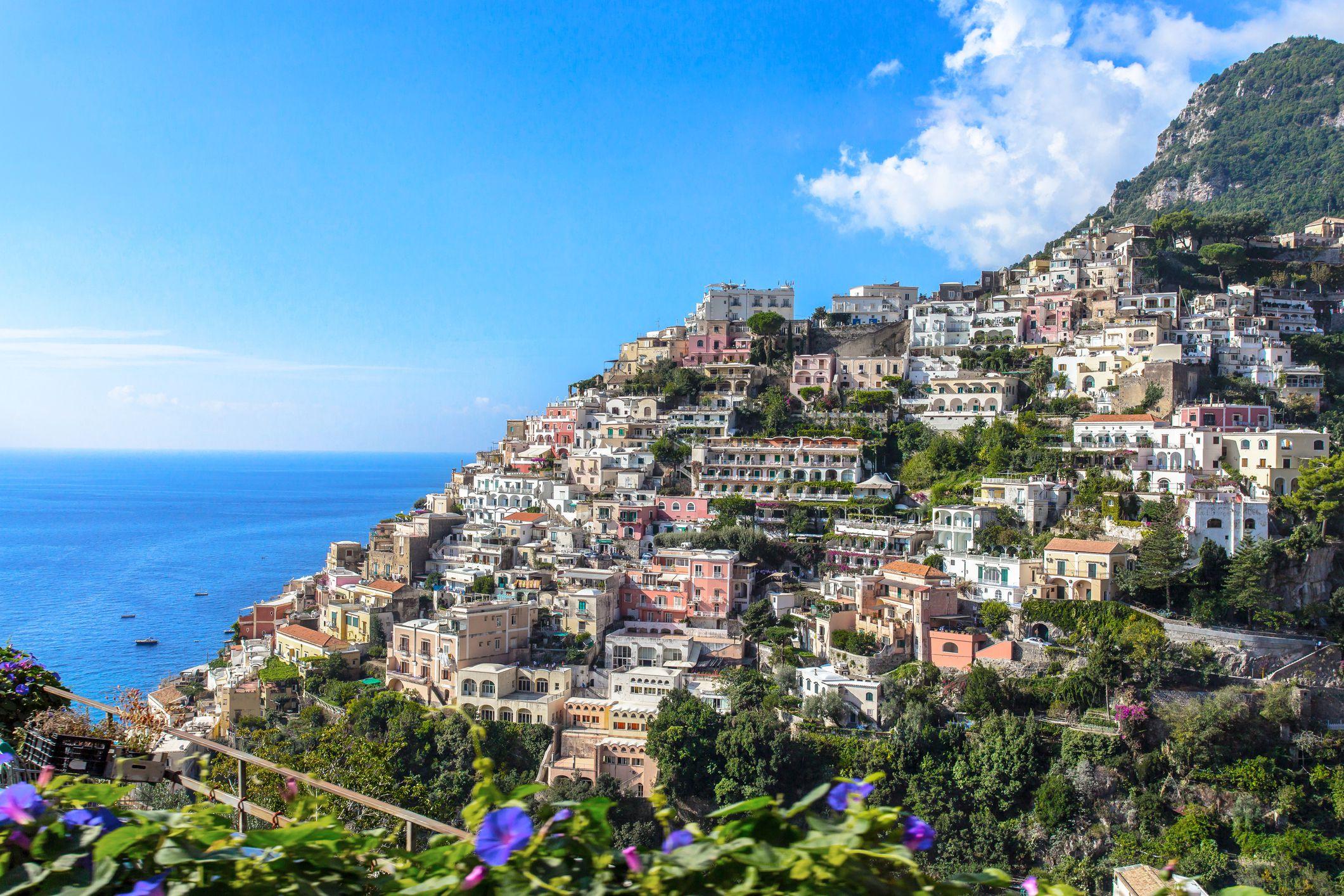 Los colores brillantes de la península de Amalfi