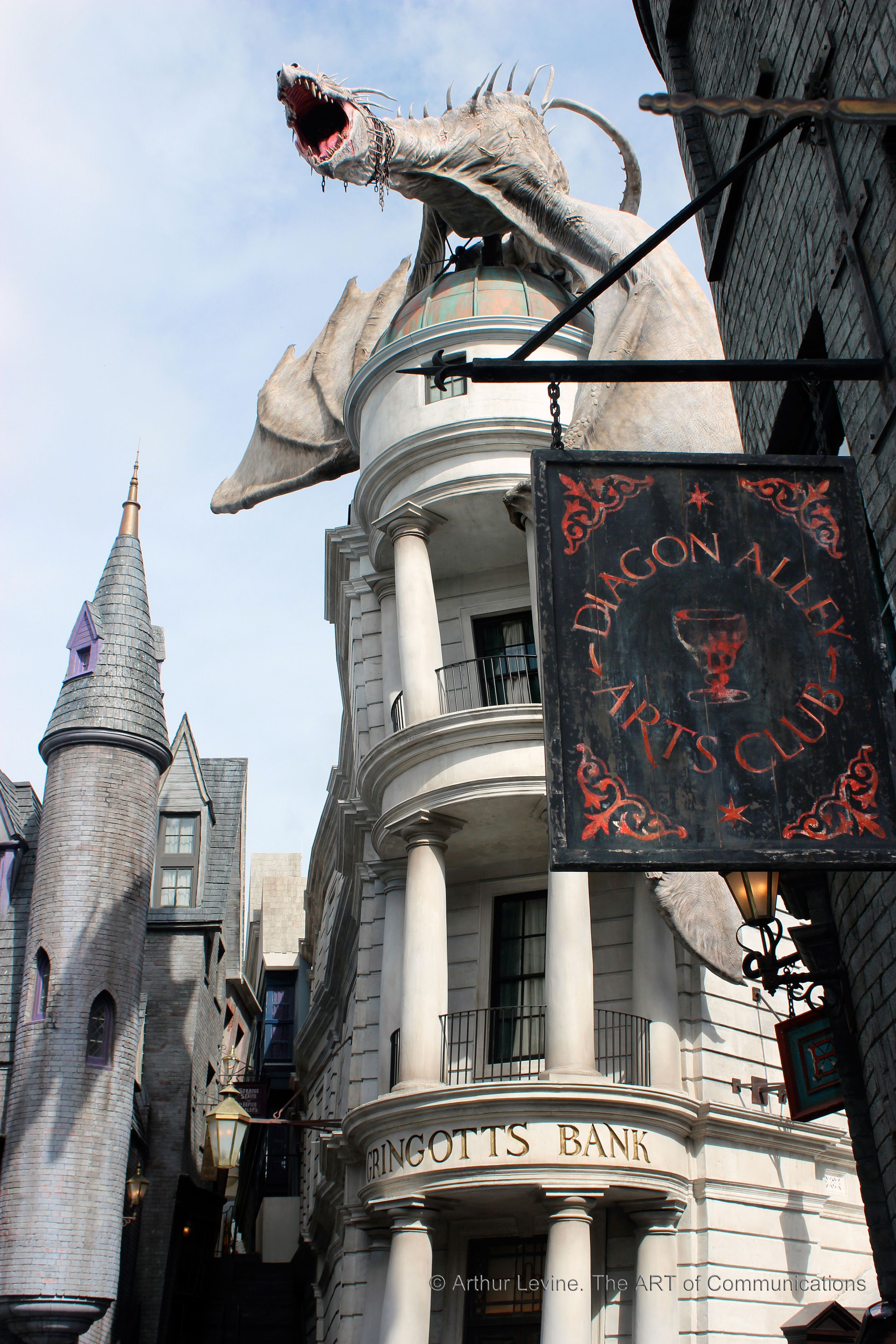 Go To Go Insurance >> Diagon Alley - Photos of The Wizarding World of Harry Potter