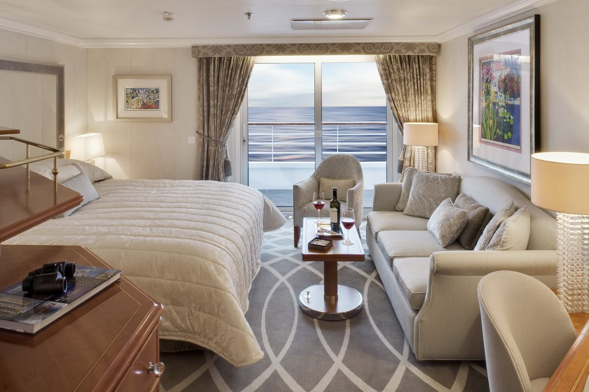 Penthouse - Crystal Symphony Staterooms - Crystal Cruises