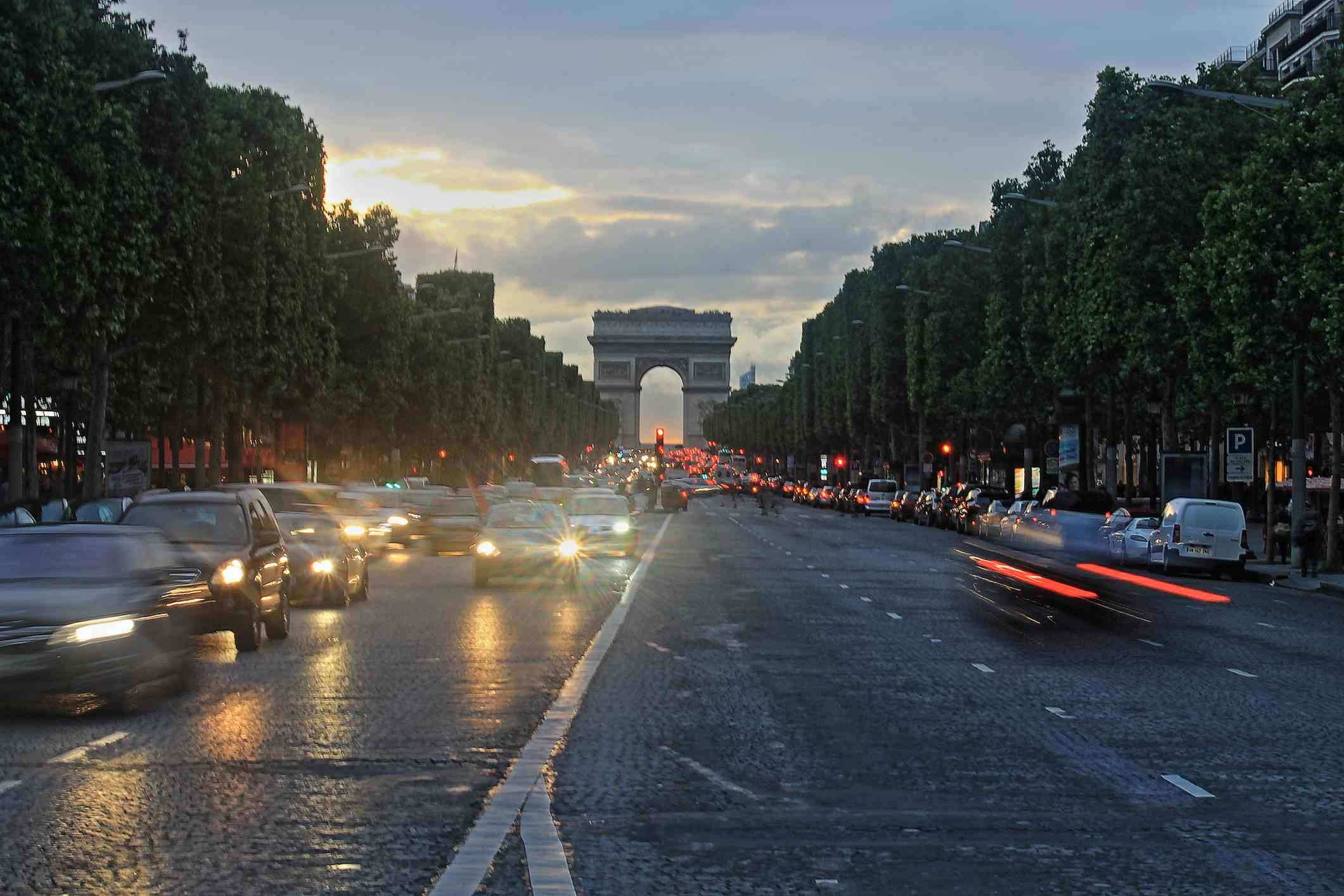 Some streets in Paris, such as the Champs-Elysées, can be quite challenging for visitors to navigate.