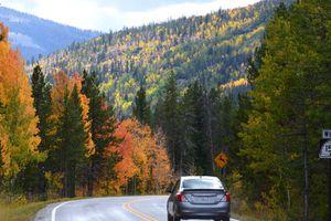 Scenic drives near Park City
