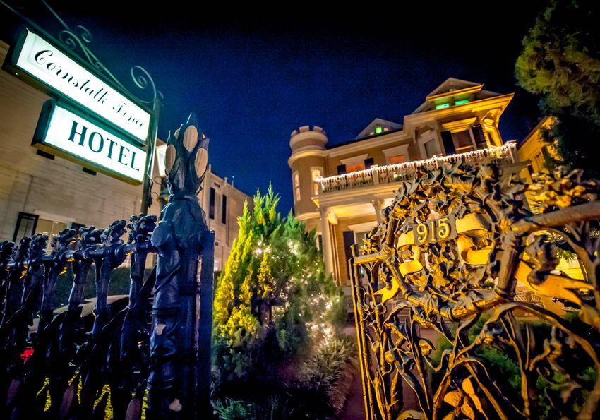 Haunted Cornstalk Hotel in New Orleans