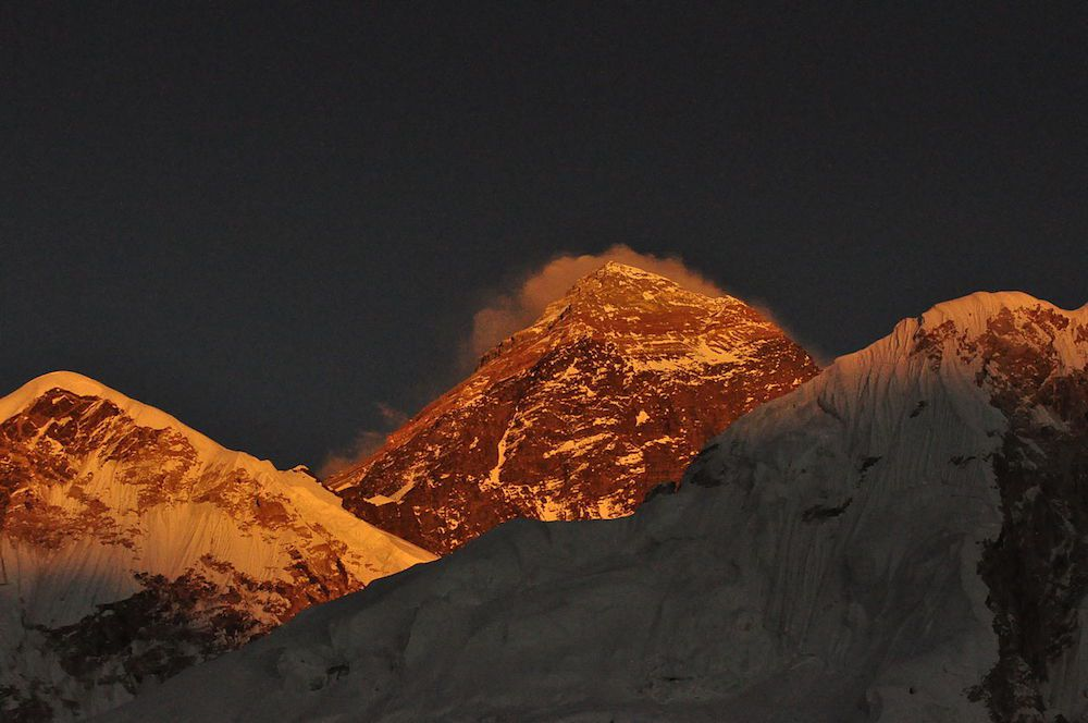 Everest South Side in Nepal