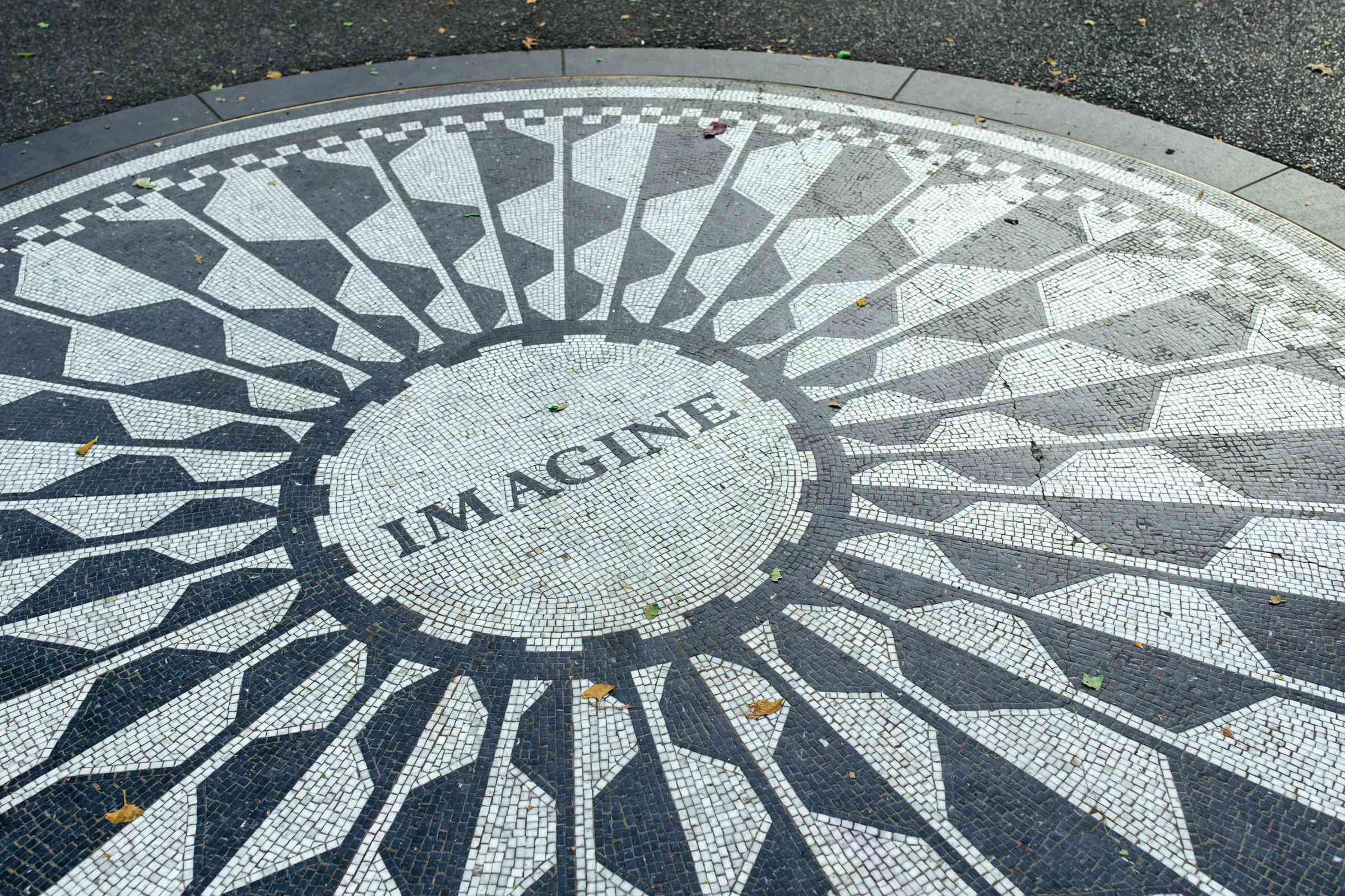 Strawberry Fields en Central Park, NYC