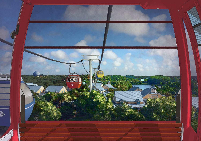 Disney Skyliner Gondola at Disney World