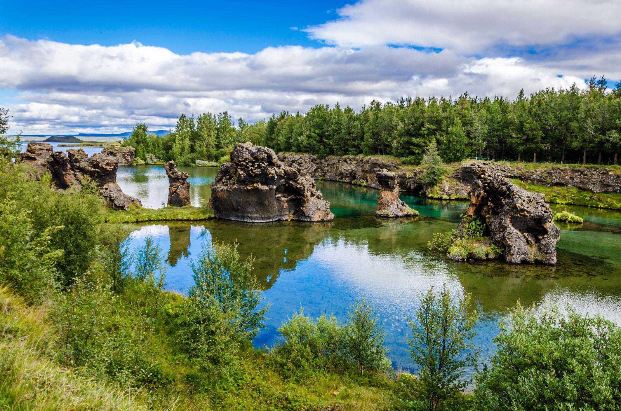 Parque natural de Höfði en Islandia