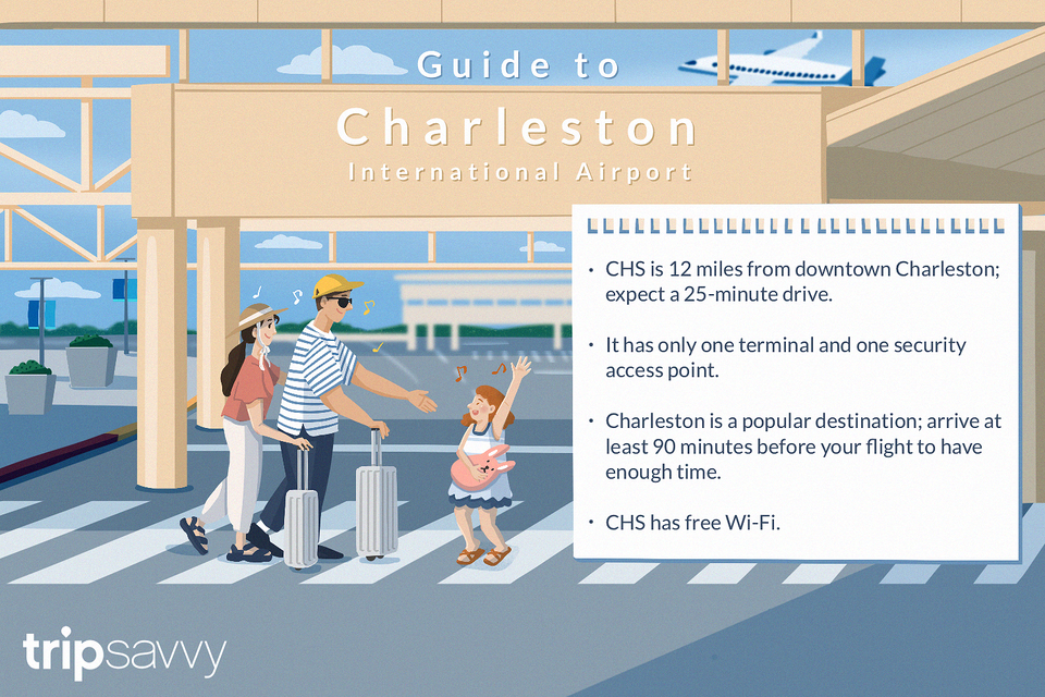 guide to the charleston airport