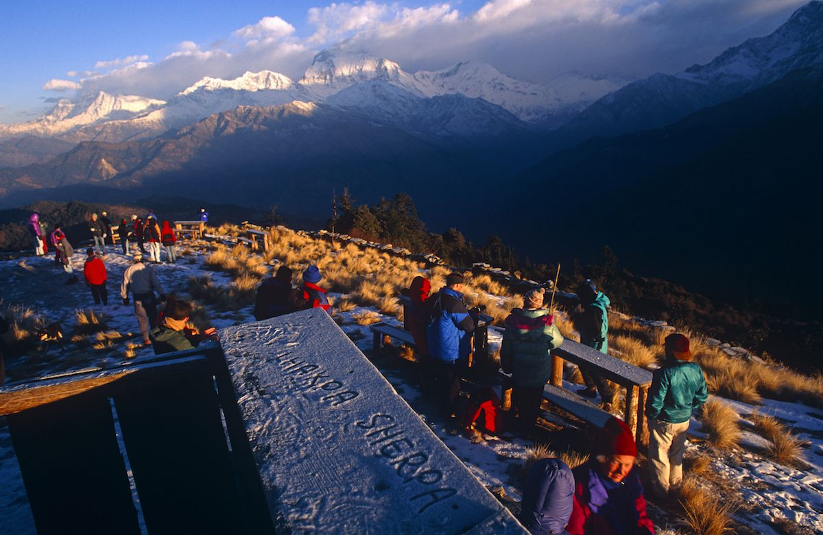 Poon Hill on Annapurna Circuit