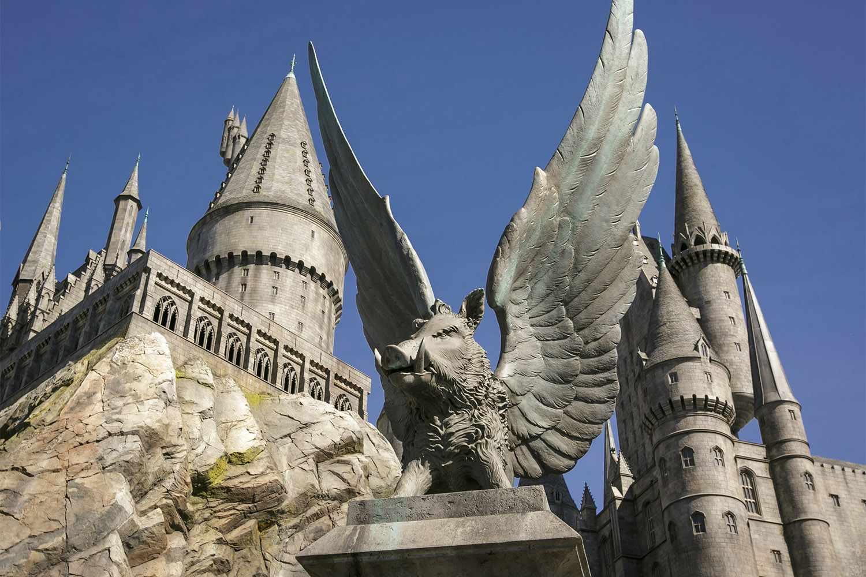 El castillo de Hogwarts en el mágico mundo de Harry Potter, Universal Studios Hollywood