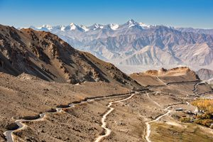 Khardung La is a mountain pass located in the Ladakh region of the Indian state of Jammu and Kashmir.