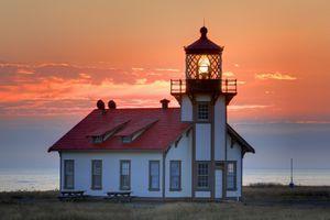Point Cabrillo Lighthouse in Mendocino California
