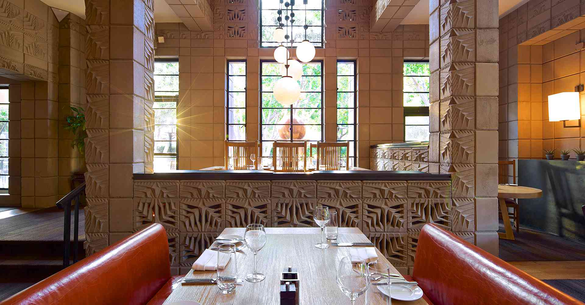 Wrights at the Bitmore dining room