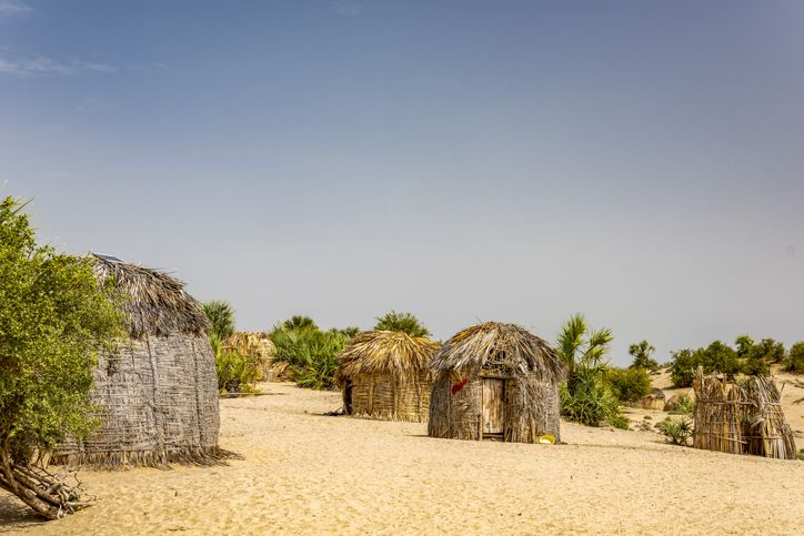 Traditional African Huts - Bomas