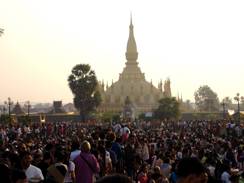 Bun That Luang celebrations in Vientiane