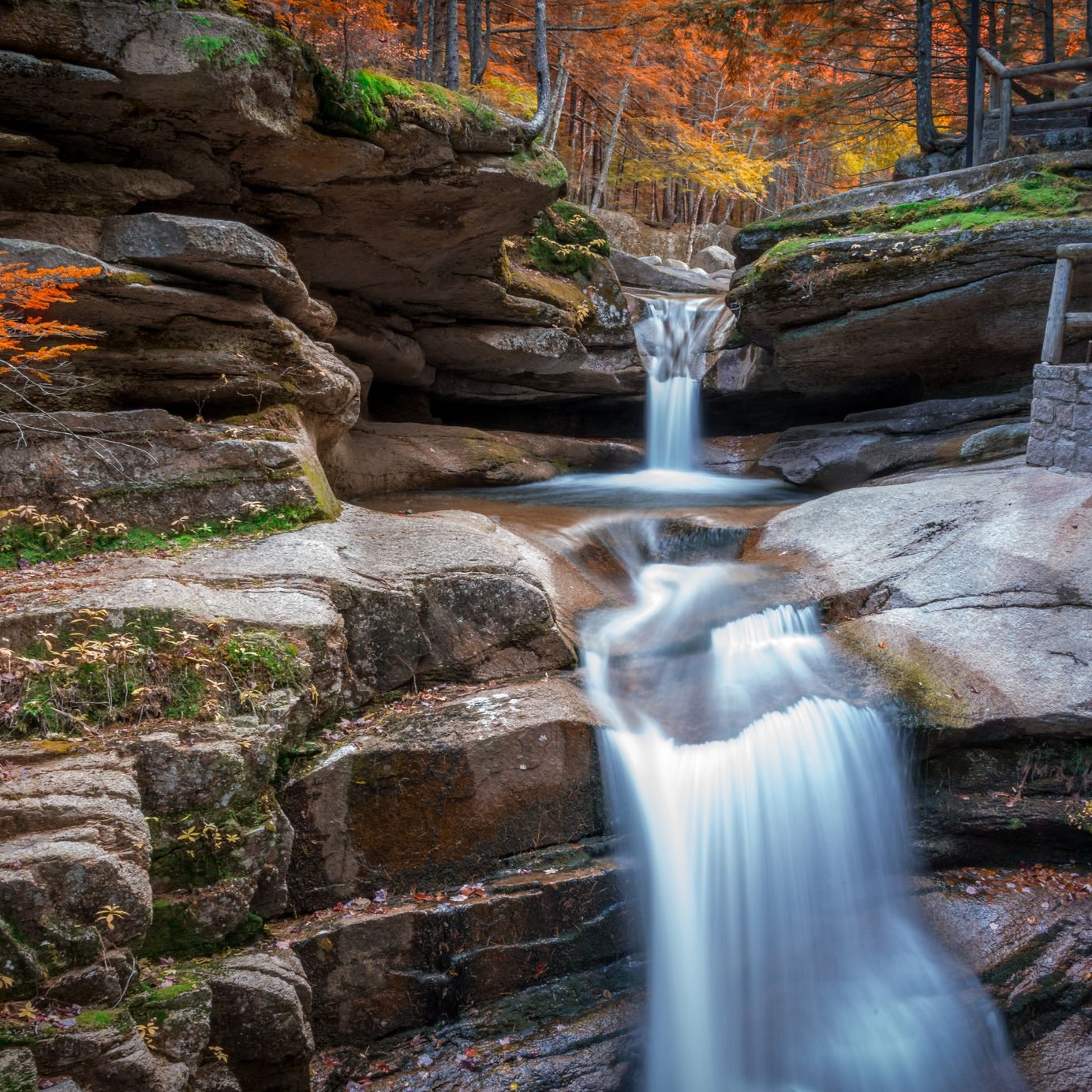 A Tour of New Hampshire Waterfalls