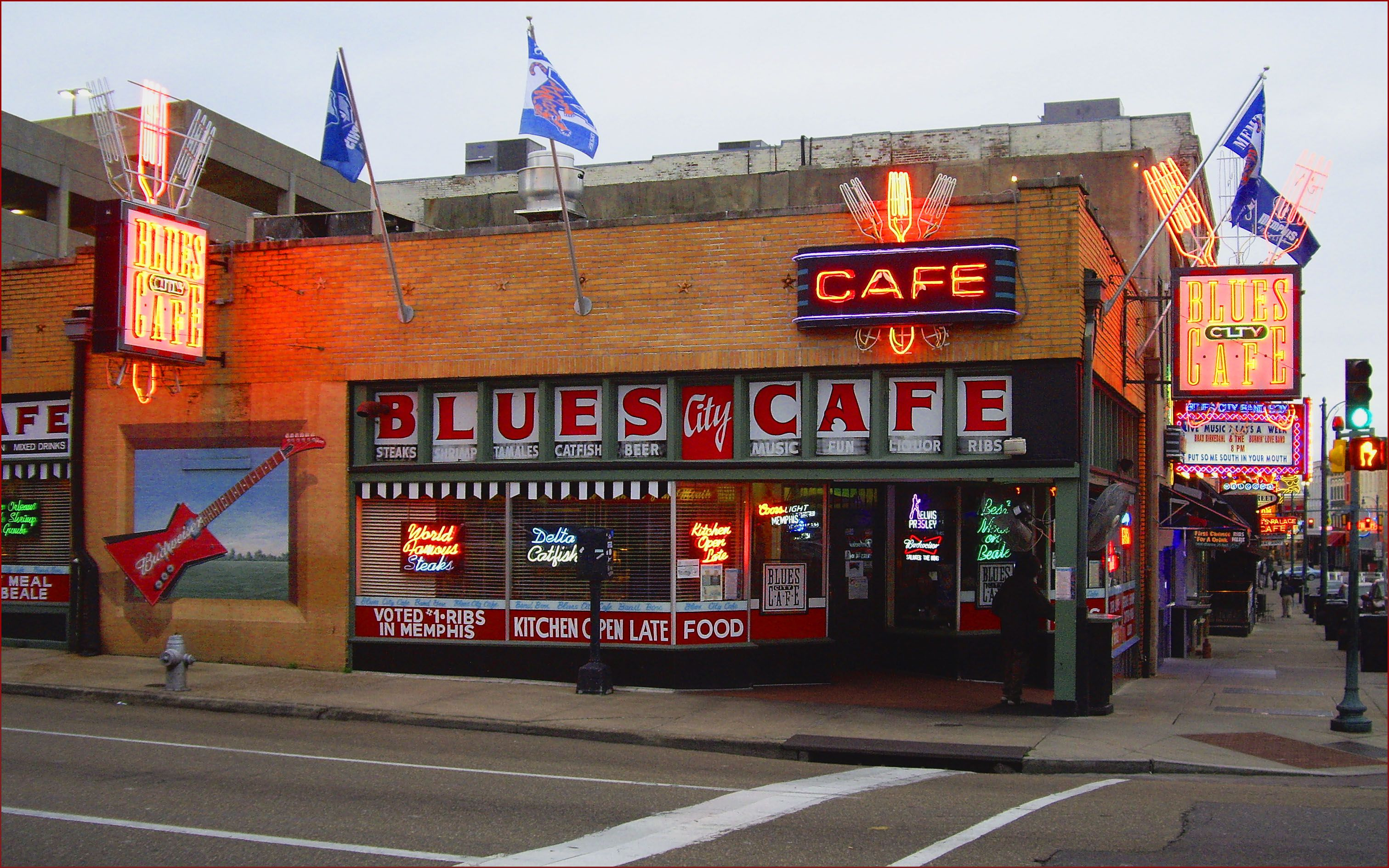 Blues City Cafe Beale Street Memphis (TN) February 2013