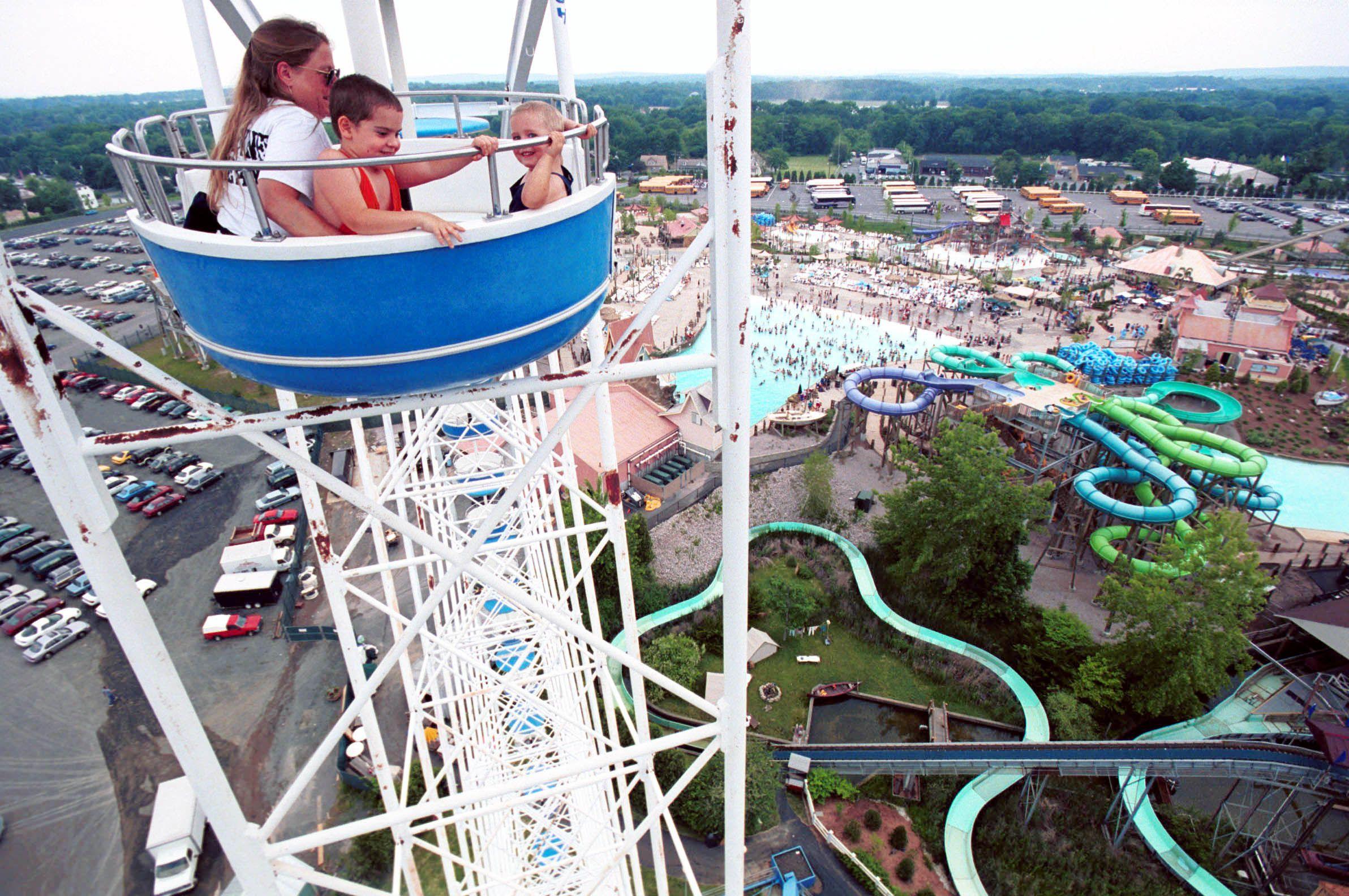 Six Flags New England in Agawam, Hurricane Harbor