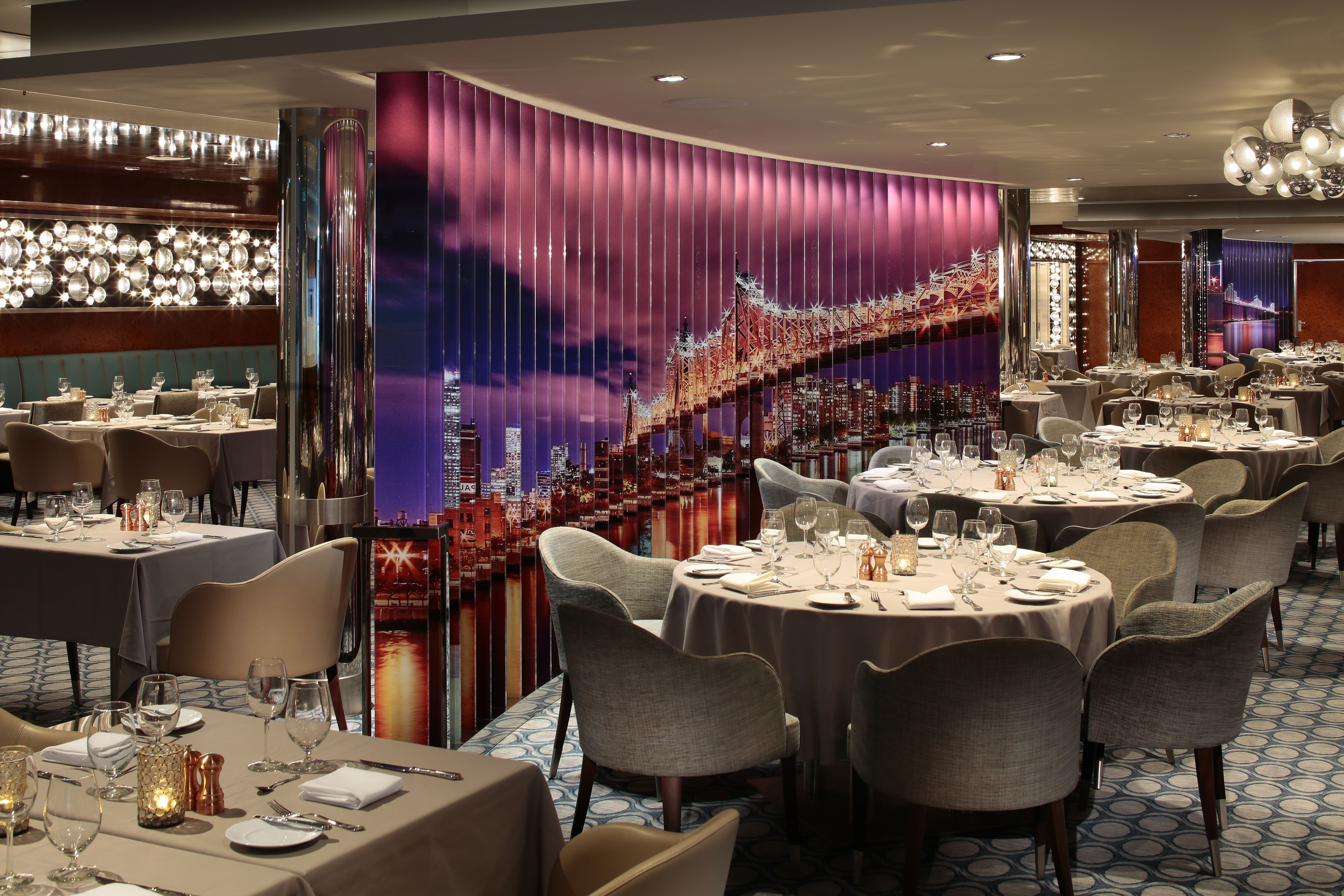 American Icon Restaurant on the Anthem of the Seas