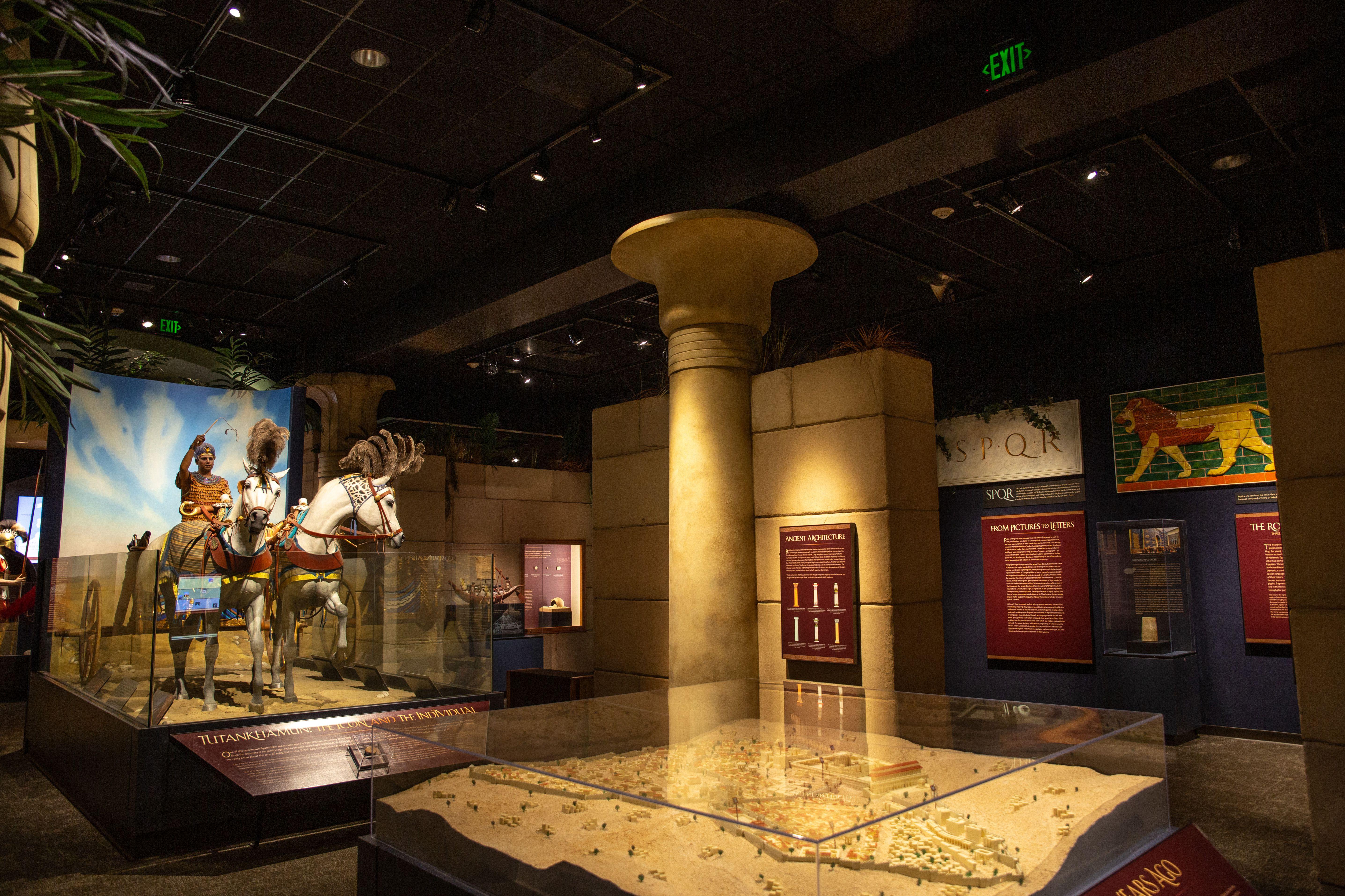 Exposiciones de historia en el Museo Público de Milwaukee