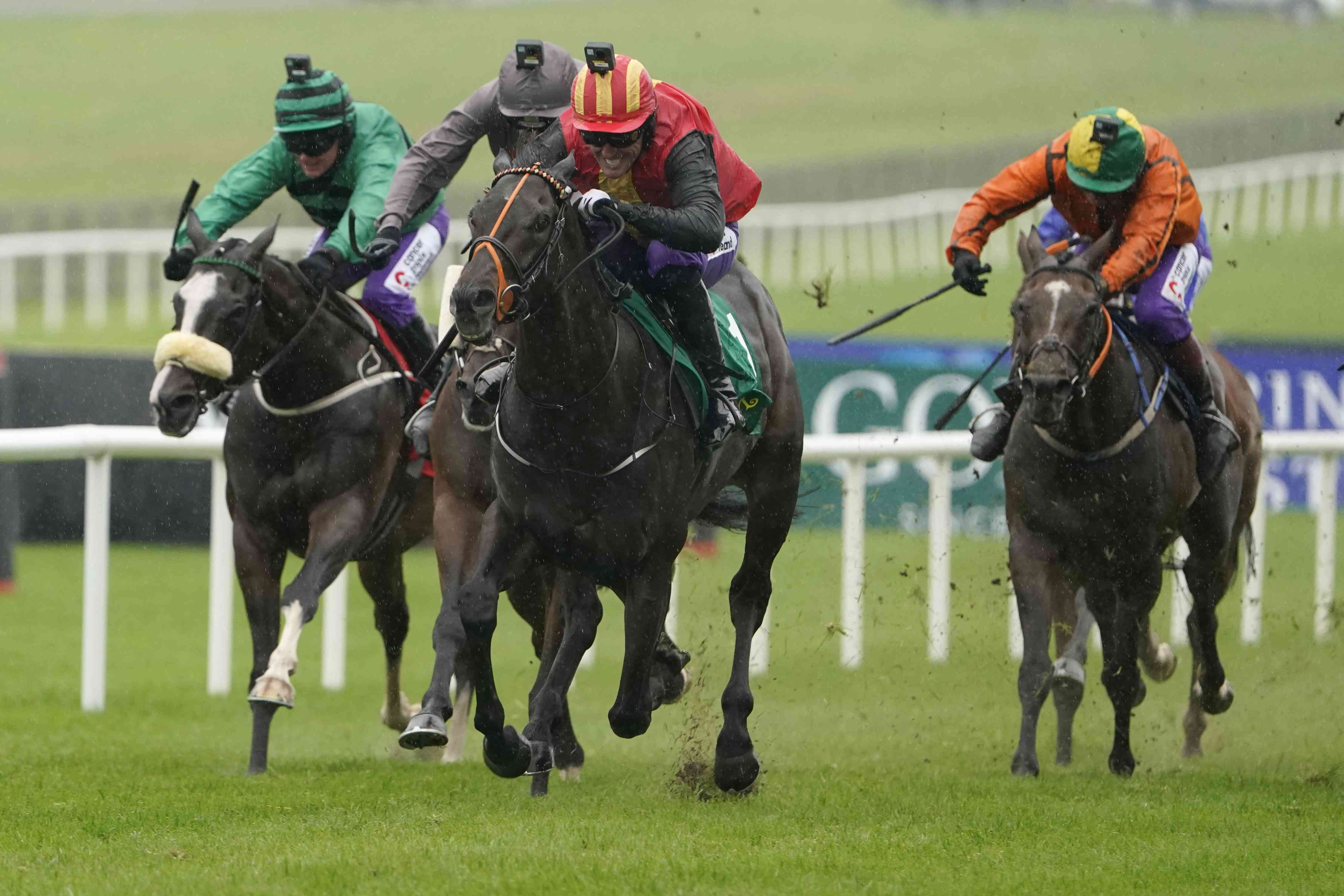 Under starters orders as sponsorship race hots up