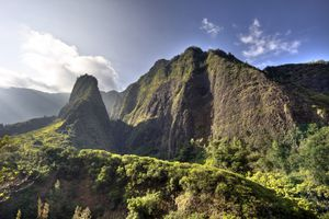 Iao Needle at Iao Valley State Park.